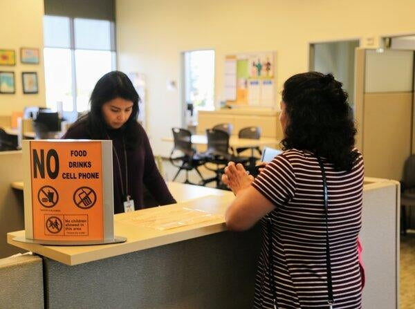 1.2 million unrepresented Californians visit self-help centers each year for help on cases that include divorces, child custody, evictions and restraining orders.