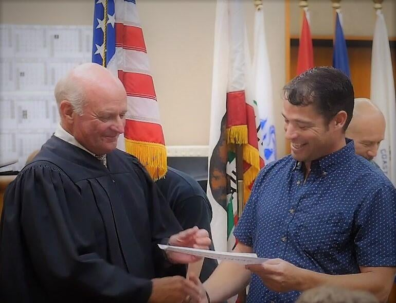 San Luis Obispo County Judge John Trice, who retired in 2017, calls establishing a local Veterans Treatment Court one of his greatest achievements.