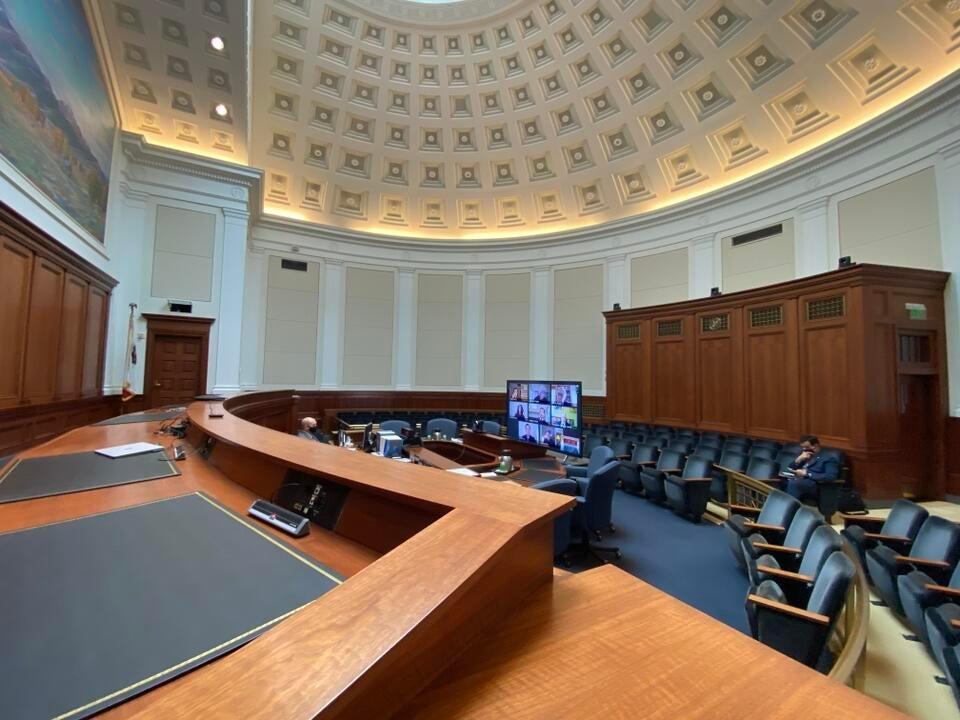 California Supreme Court goes virtual