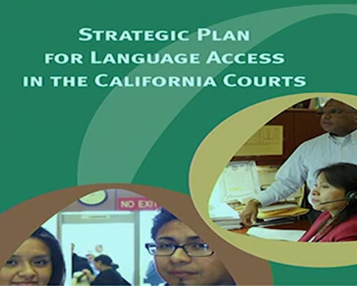Cover of Strategic Plan for Language Access in the California Courts