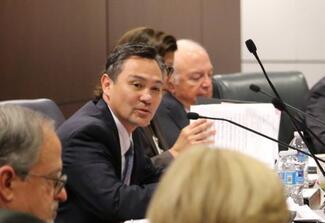 Administrative Director Martin Hoshino