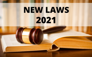 new laws 2021