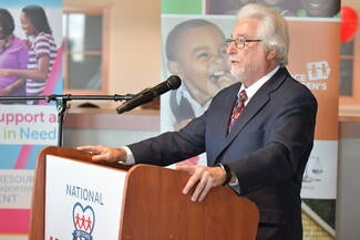 Los Angeles County Adoption Day welcomed special guest Judge Michael Nash (Ret.) who is credited with getting the national event started in 1998.