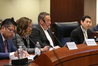 Chair of the task force charged with overseeing the successful video remote interpreting pilot project, Supreme Court Justice Mariano-Florentino Cuéllar told council members the collaborative nature of the project made it stronger.