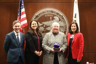 Fresno County Superior Court Judge Hilary Chittick was one of three jurists honored by the council this year.